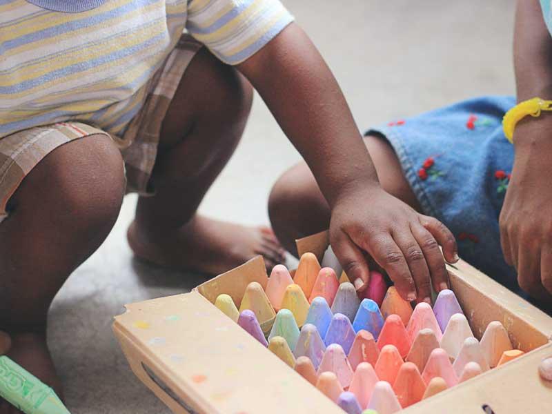 بهترین وسیله بازی برای کودکان دوساله