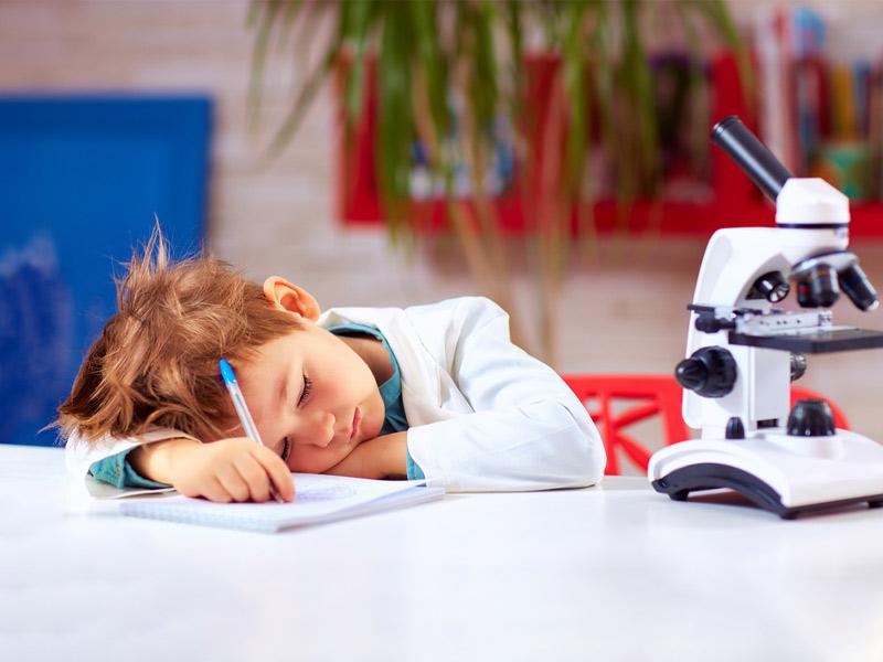 کودک خسته