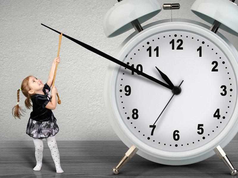 زمان برای کودک