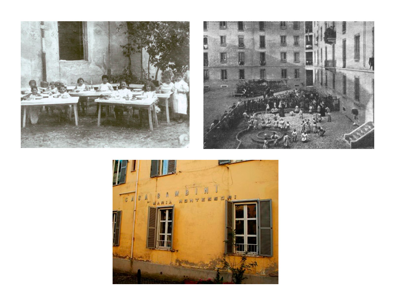 Casa dei Bambini مونته سوری
