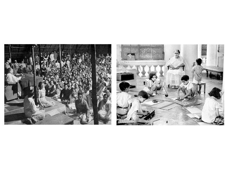 دکتر مونته سوری در هند