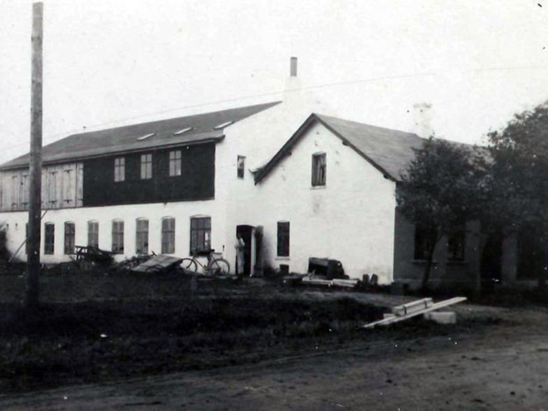 خانه و کارگاه شرکت لگو