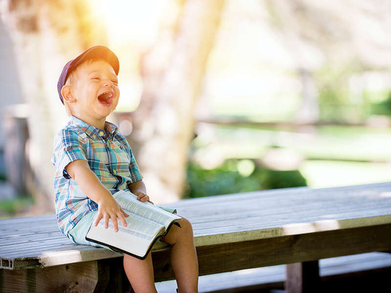 کودک و کتاب داستان
