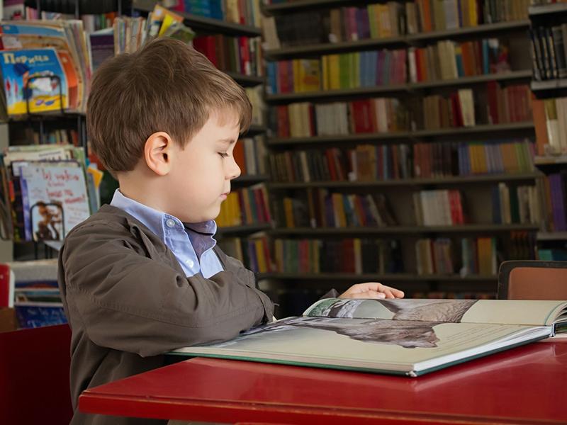 کودک و کتابخانه