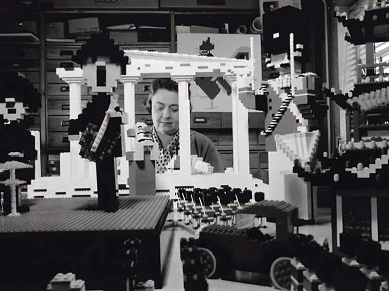 تولیدات قدیمی لگو