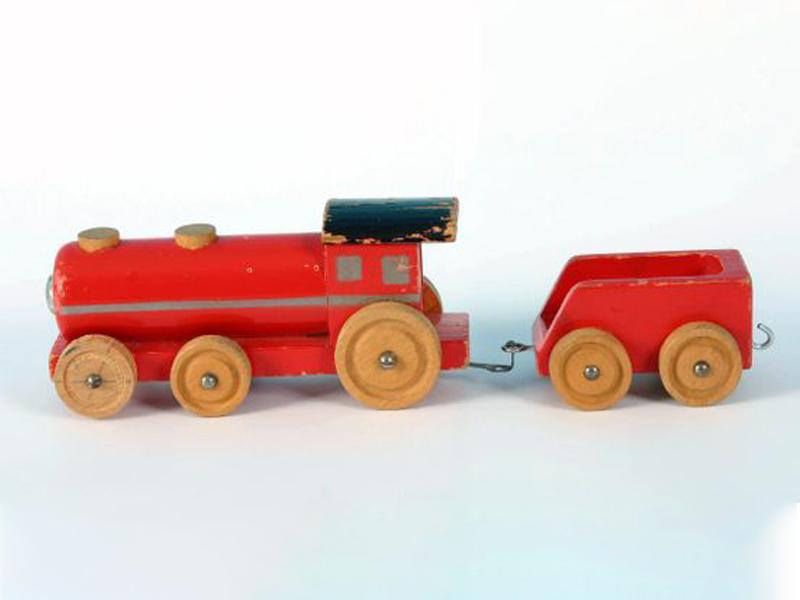 قطارهای چوبی لگو