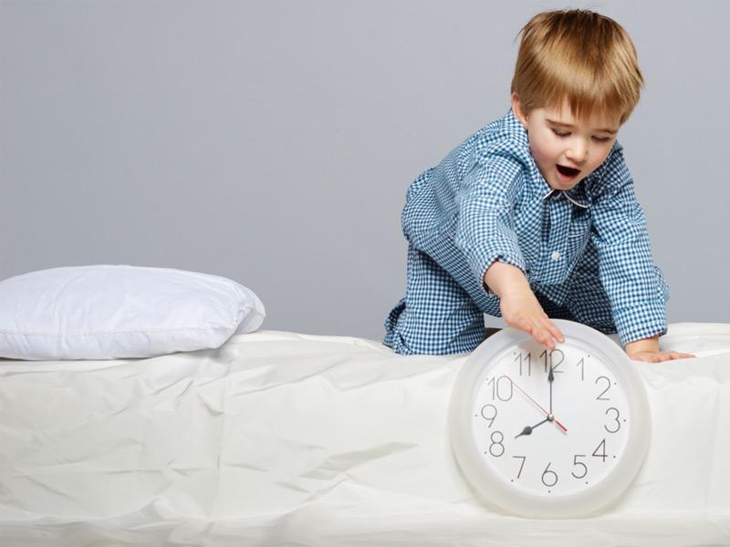 ساعت خواب کودک