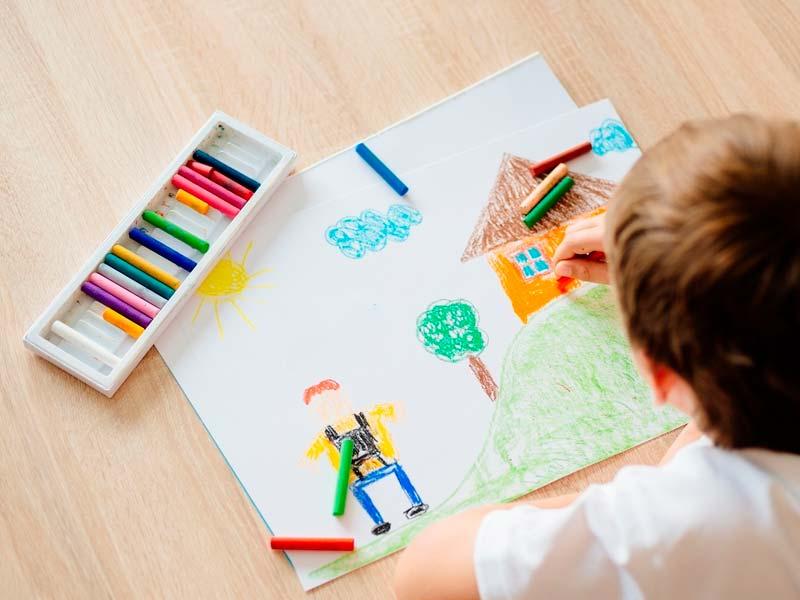 نقاشی با مدادشمعی