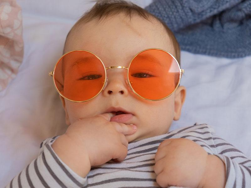 ایده عکس با عینک