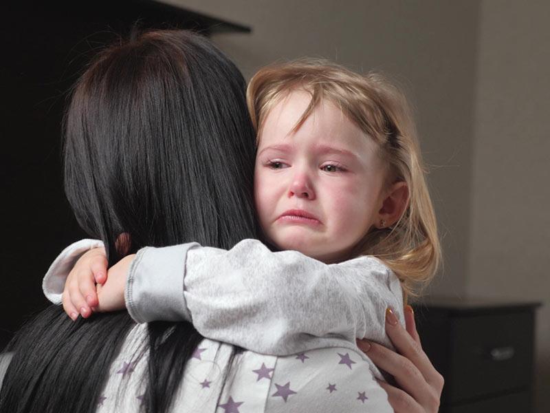 گریه کردن کودک