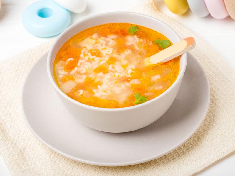 سوپ برای کودک